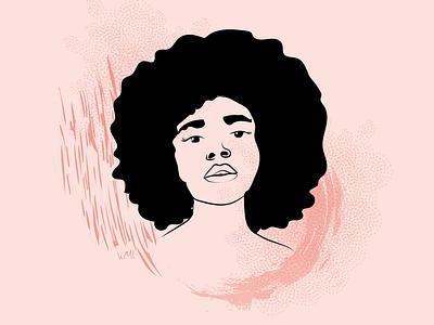 Portrait Illustration 02 portrait design digital vector illustration