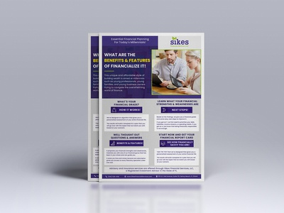 Financial Flyer Design