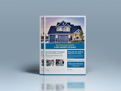 Minimal Real Estate Flyer real estate flyer design minimal real estate flyer minimalist flyer design flyer real estate real estate flyer