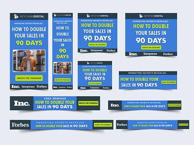 Business Web Banner Set google adwords design google ad design business web banner google ad banner google adwords google ads web banner