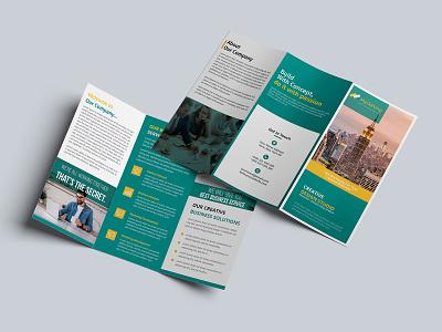 Creative Corporate Trifold Brochure clean brochure creative brochure trifold brochure design business brochure bifold brochure trifold brochure corporate brochure brochure design brochure