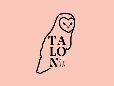 Talon Review literary magazine logo literature jacksonville florida illustrator