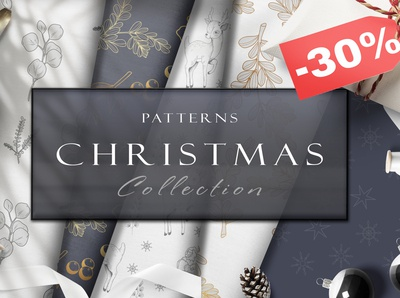 SALE 30% Christmas Patterns