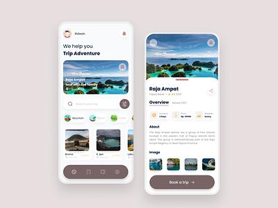 Booking travel ticket adventure traveling bookingticket travel app app design ui design appdesign uiux design ui