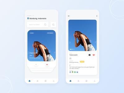 App Dating app app design ui design appdesign uiux design ui couplegirls couple datingapp appdating
