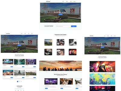 wisata ui design design ui destination website