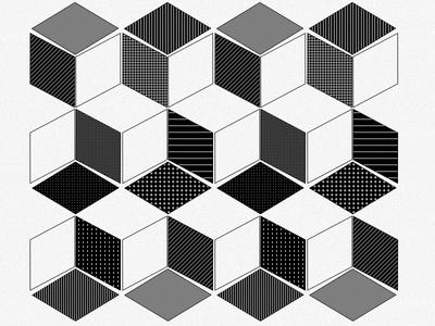 Flyer detail | ·Y· geometry pattern cube