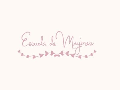 Escuela de mujeres // Logo proposal II escuela de mujeres feminine women proposal