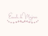Escuela de mujeres // Logo proposal II