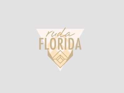 Ruda Florida // Logo proposal ruda ruta agua florida branding