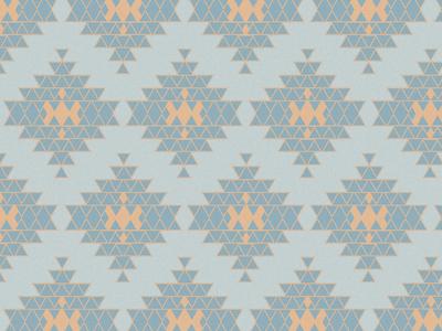 τάπης geometry triangle light blue orange pattern