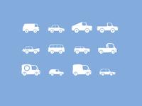 Cars - icons design