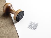 QR Blog - Official Stamp design