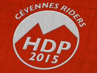 Logo Cévennes Riders - HDP 2015