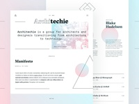 New Architechie Website
