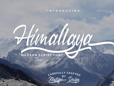 Himallaya Modern Script Font