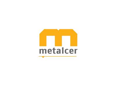 Metalcer Logo vector logo branding branding and identity design