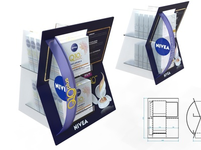Nivea POP 3D Design