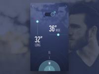 Clothing Club App: Sizing Onboard