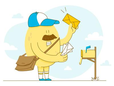 Newsletter postman