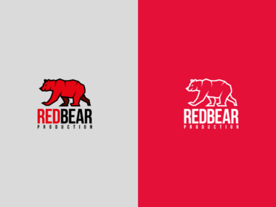 Red bear logo
