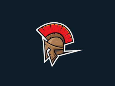 Spartan's helmet