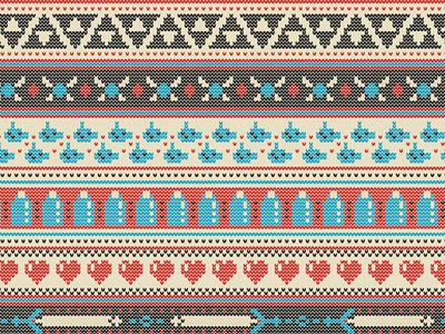 Fairhyle Knit by Kate Moore - Dribbble