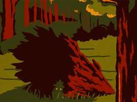 Zelda WPA Poster - Lost Woods