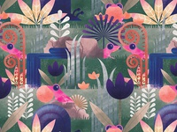 Spring Peepers Fabric