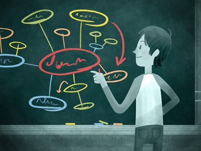 Understanding Discouraged Students Illustration