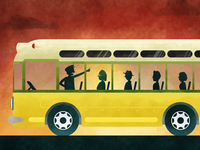 Rosa Parks Illustration
