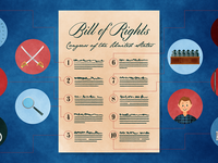 Bill of Rights Illustration