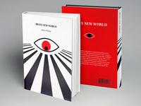 'Brave New World' book cover re-design