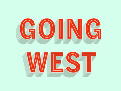 014/100 Going West