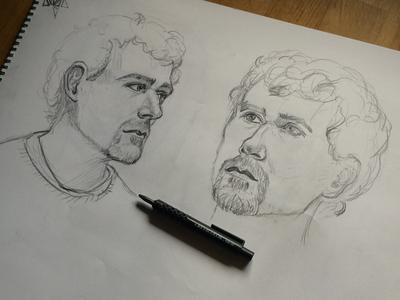 Portrait Live Drawing