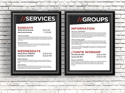 Informational Signage signage church design church