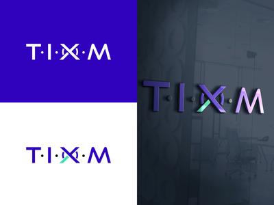 Logo Design - TIXM