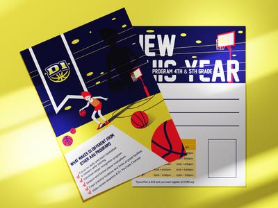 D1 Concept Post Card illustration