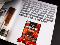 Jack Links Magazine Ad