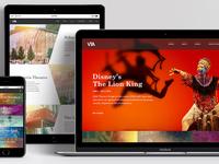 Victoria Theatre | Web Design