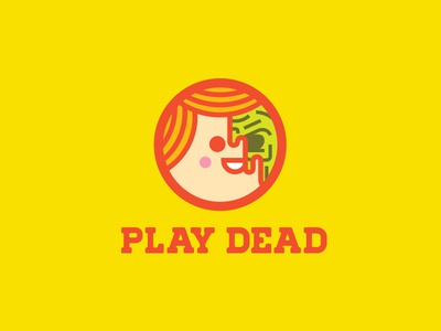 Play Dead illustration creepy boy smile melty face dead cheeks experiment fun farts