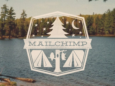 Camp MailChimp mailchimp camping summer stars outdoors