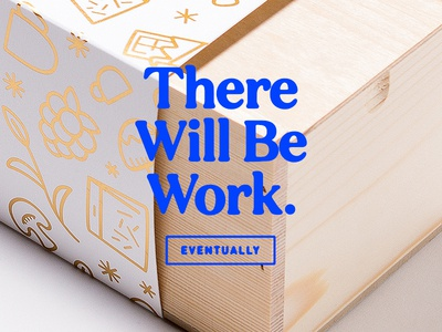 Procrastination farts type portfolio really old project letterpress foil illustration packaging