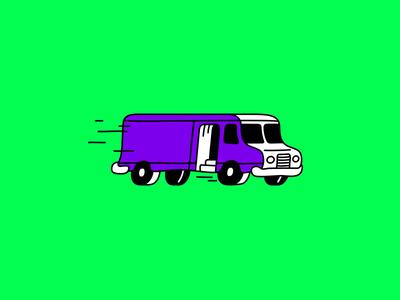 Truckin Along
