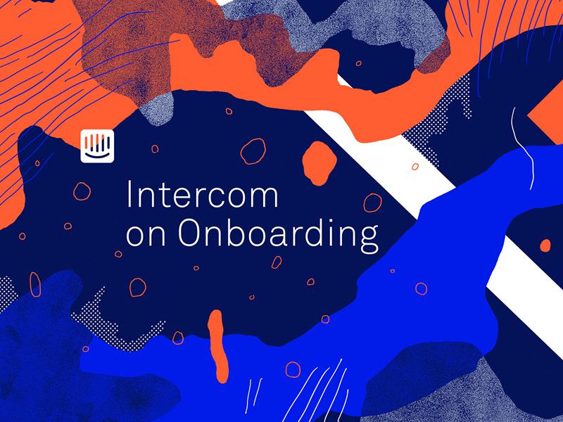 Intercom on Onboarding brand wavvy intercom web book print digital ebook fart art abstract