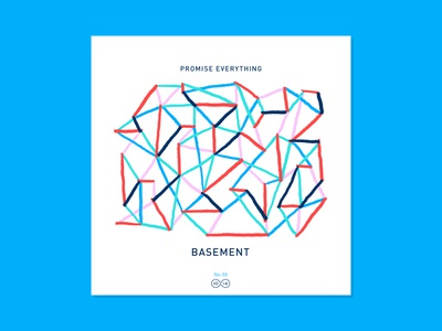10x16 — #3: Basement - Promise Everything album artwork art music illustration abstract color 10x16
