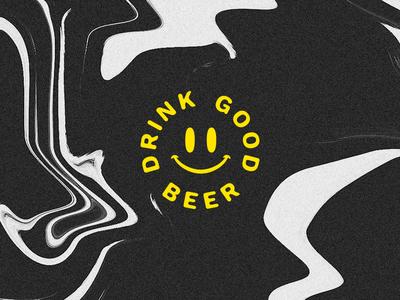 Drink Good Beer drink identity branding thingy fart scraps beer