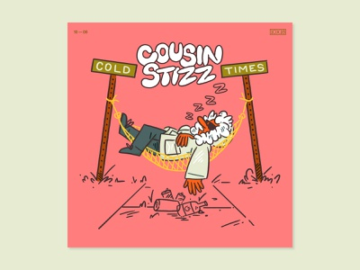 10x18 — Cousin Stizz 10x18 music art visual design graphic  design layout type album art illustration