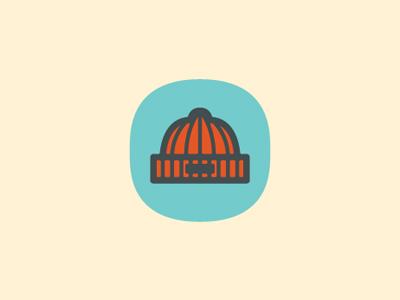 Beanie Weenie beanie hat icon mark logo brand