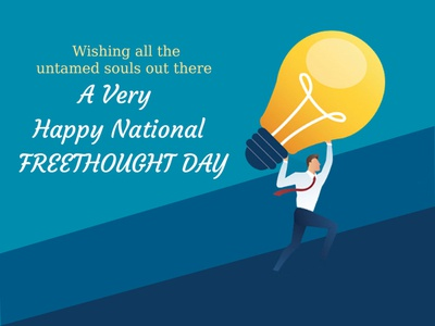 A Very Happy NATIONAL FREETHOUGHT DAY